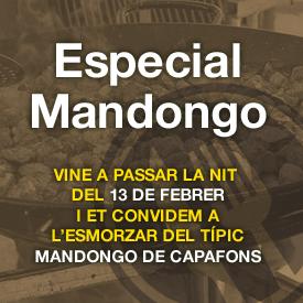 ET CONVIDEM AL MANDONGO DE CAPAFONTS